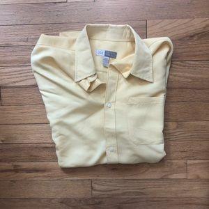 ⬇️25 Joe: Joseph Abboud Yellow Short Sleeve Shirt